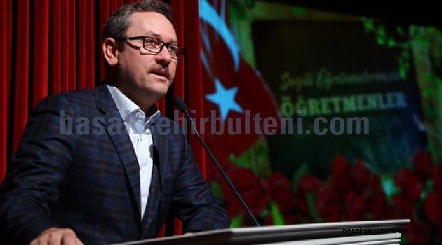Başakşehir'de 'Öğretmenler Günü' coşkusu