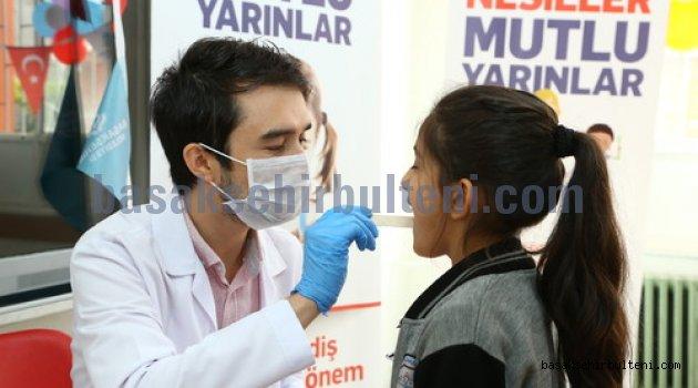 Başakşehir'deki okullarda sağlık taraması