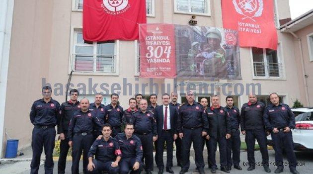 Başkan Kartoğlu itfaiye personelini unutmadı