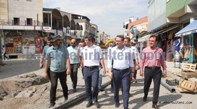 Başkan Kartoğlu'ndan kardeş ilçe Malazgirt'e ziyaret