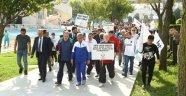 Başakşehirliler sağlık için yürüdü