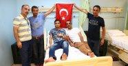 Filistinli kahramanlar Başakşehir'de tedavi görüyor